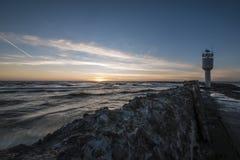Molo przy morzem bałtyckim Zdjęcie Stock