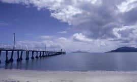 Molo Queensland del nord di Cardwell immagini stock libere da diritti