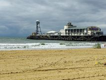 Molo w Bournemouth obraz stock