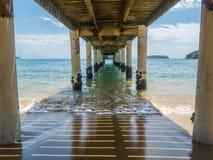 Molo w Brazylia Zdjęcia Stock