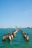 Molo w budowie Zdjęcia Royalty Free