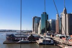 Molo 17 w Miasto Nowy Jork obrazy stock