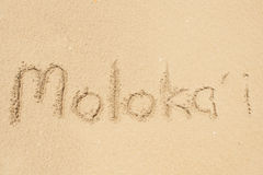Moloka'i Obrazy Stock