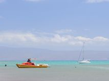 Molokai βάρκες Στοκ Εικόνες