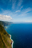 Molokai coastline Stock Photography