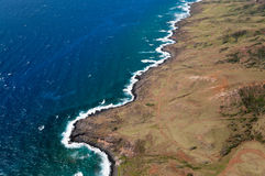 Molokai island coastline Stock Photography