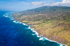 Molokai island coastline Stock Photos