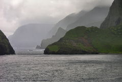 Molokai Seacliffs Stock Photos