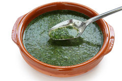 Molokhia soup Royalty Free Stock Image