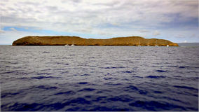 Molokini Crater Off The Island of Maui Royalty Free Stock Photo