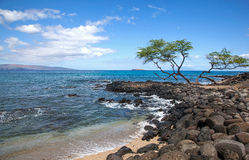 Molokini from Makena Royalty Free Stock Photos