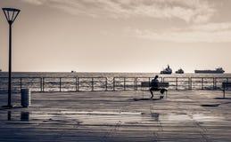 Molos,利马索尔塞浦路斯 免版税图库摄影