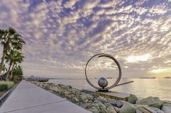 Molos, Limassol, Chipre Foto de archivo libre de regalías