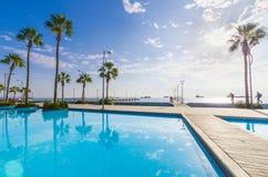 Molos, Limassol, Chipre imagen de archivo