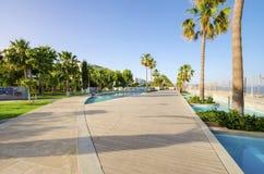 Molos, Limassol, Chipre Imagens de Stock