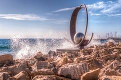 Molos, Limassol Chipre Imagens de Stock
