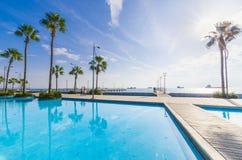 Molos, Limassol, Chypre Photos libres de droits