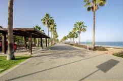 Molos, Limassol, Cipro Fotografia Stock