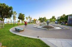 Molos Limassol, Cypern Arkivbilder