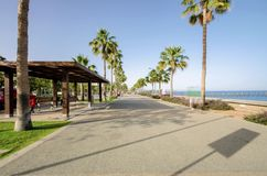 Molos, Limassol, Cypr Fotografia Stock