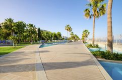 Molos, Limassol, Cypr Obrazy Stock