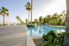 Molos, Limassol, Cypr Zdjęcia Stock