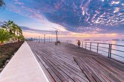 Molos, Limassol, Cyprus royalty-vrije stock fotografie