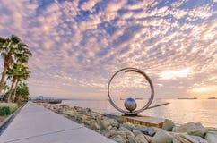 Molos, Limassol, Cyprus royalty-vrije stock foto's