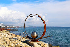 Molos park, Limassol. Molos Park at the beach front in Limassol, Cyprus Stock Photo