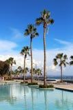 Molos Promenade in Limassol, Cyprus. Molos Promenade at the beach front in Limassol, Cyprus Stock Image