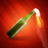 Molotov cocktail bomb Stock Images