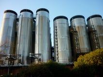 Molson库尔斯啤酒厂在布伦特河畔伯顿,英国 库存图片