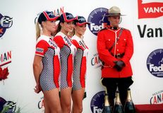 Molson Indy girls Stock Photo