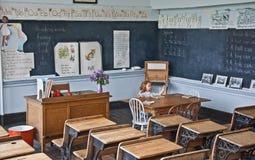 MOLSON, WA â 30 â历史的学校博物馆 免版税库存照片
