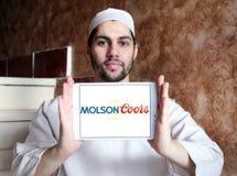 Molsoncoors Brewing Company embleem stock foto's