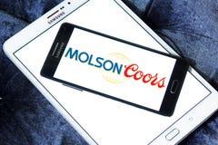 Molsoncoors Brewing Company embleem royalty-vrije stock foto