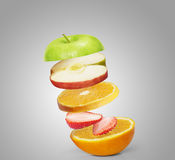 Molta frutta Fotografie Stock