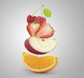 Molta frutta Fotografia Stock