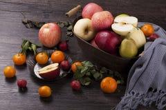 Molta frutta fresca immagini stock libere da diritti