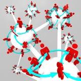 Molta gente connessa sui mondi collegati