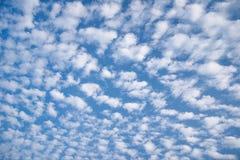 Molta piccola nuvola lanuginosa Fotografia Stock Libera da Diritti