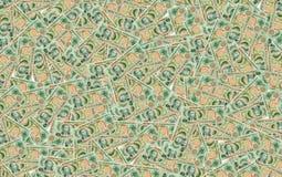 Molte banconote cinque pesi Filippine nei precedenti Immagini Stock Libere da Diritti