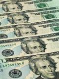 Molte banconote in dollari Fotografia Stock Libera da Diritti