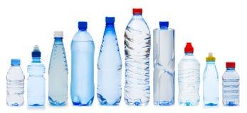 Molte bottiglie di acqua Fotografia Stock Libera da Diritti