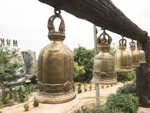 Molte campane che sono misurate fotografia stock libera da diritti