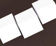 molte carte Modello alla presentazione Immagini Stock Libere da Diritti