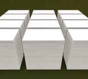 molte carte Modello alla presentazione royalty illustrazione gratis