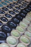 Molte ciotole della ceramica Immagini Stock