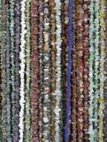 Molte collane delle pietre semipreziose Immagine Stock