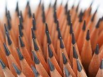 Molte delle matite taglienti Fotografia Stock Libera da Diritti
